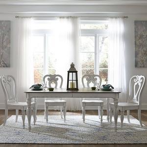 Liberty Furniture Industries - Opt 5 Piece Rectangular Table Set