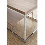 "Lucia Chairside End Table 18""x10""x25"""