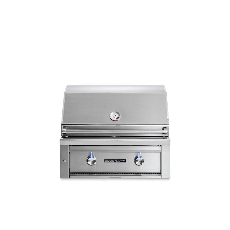 """30"""" Sedona by Lynx Built In Grill with 2 Stainless Steel Burners, LP"""