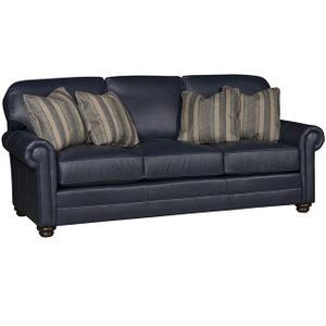 King Hickory - Winston Leather Sofa