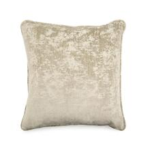 Solid Toss Pillow in Textured Grey Brown