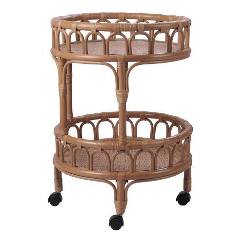Product Image - Dijon Rattan Cart, Canary Brown