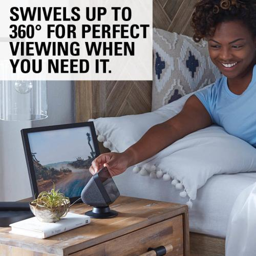 Black Amazon Echo Show 5 Tilt & Swivel Stand