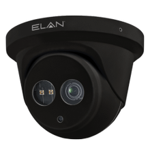 ELAN IP Fixed Lens 2MP Outdoor Turret Camera with IR (Black)