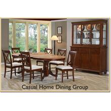 See Details - Double Pedestal Table