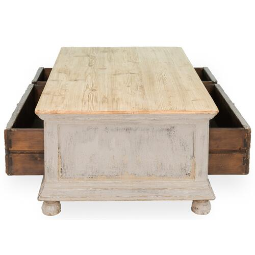 Base And Crown Coffee Table