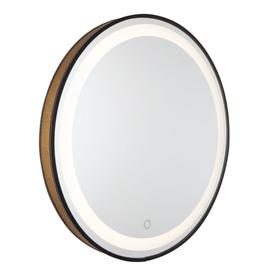 REFLECTIONS MESH ROUND MIRROR