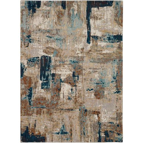 "Elements Envision Aquamarine 9' 6""x12' 11"""