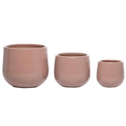Bolla Malva Cachepot set of 3