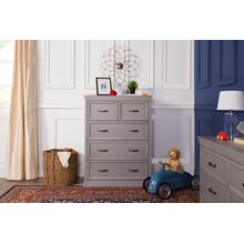 Langford 5-Drawer Chest in Windsor Grey