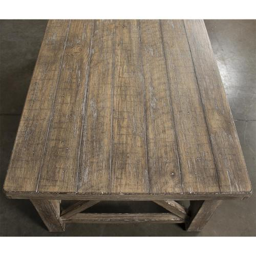 Sonora - Coffee Table - Snowy Desert Finish