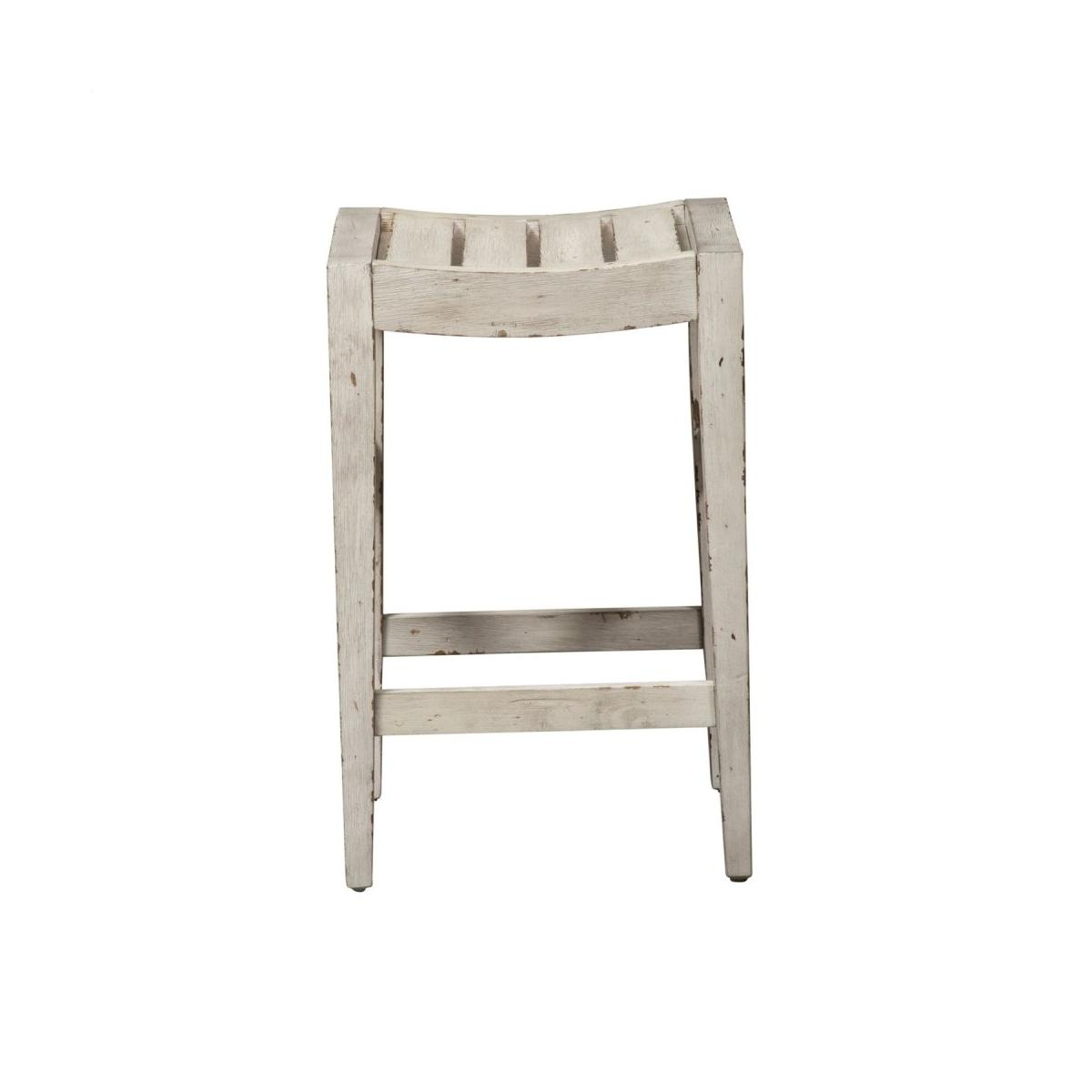 24 Inch Counter Stool (RTA) - White