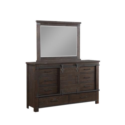 Newton Mirror, Cocoa Brown 2623-04