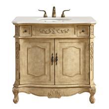 See Details - 36 In. Single Bathroom Vanity Set In Antique Beige