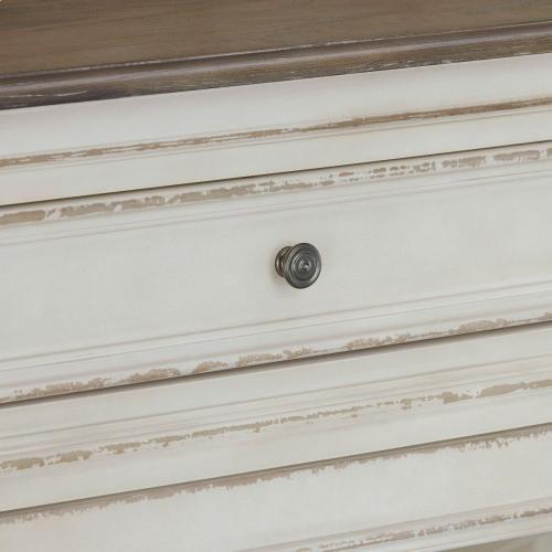 Stevenson Manor Storage Hutch, Distressed White