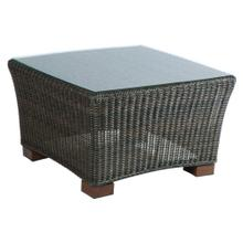 """View Product - Maddalena 28"""" Square Coffee Table w/ glass top"""