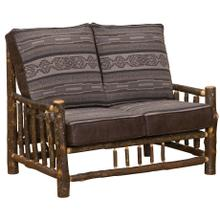 See Details - Loveseat - Natural Hickory