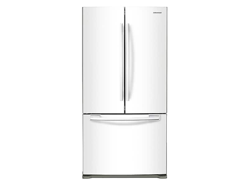 Samsung18 Cu. Ft. Counter Depth French Door Refrigerator In White