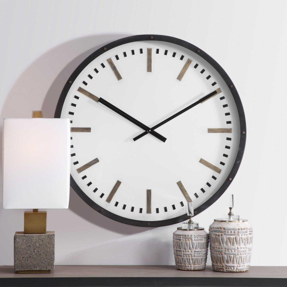 See Details - Fleming Wall Clock