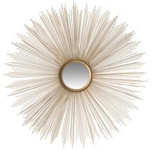 See Details - Sun Burst Mirror - Gold