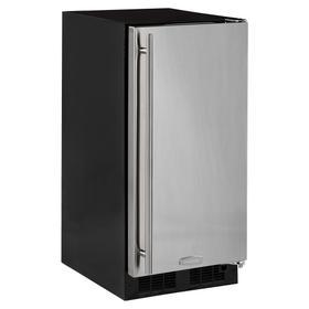 15-In Built-In All Refrigerator with Door Style - Stainless Steel, Door Swing - Right