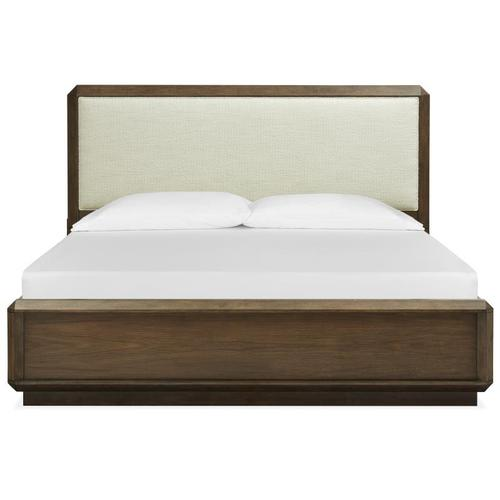 Magnussen Home - Complete Queen Panel Bed w/Upholstered Headboard