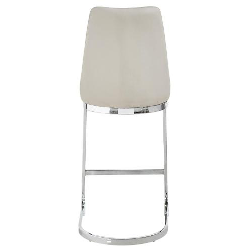 Kyla KD PU Counter Stool, Gray