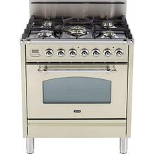 30 Inch Antique White Natural Gas Freestanding Range