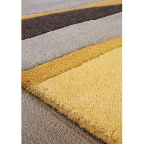 Manika 7056B Black Grey Yellow 6 X 8