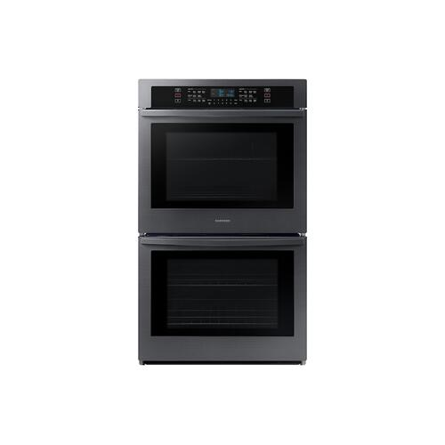 "30"" Smart Double Wall Oven in Black Stainless Steel"