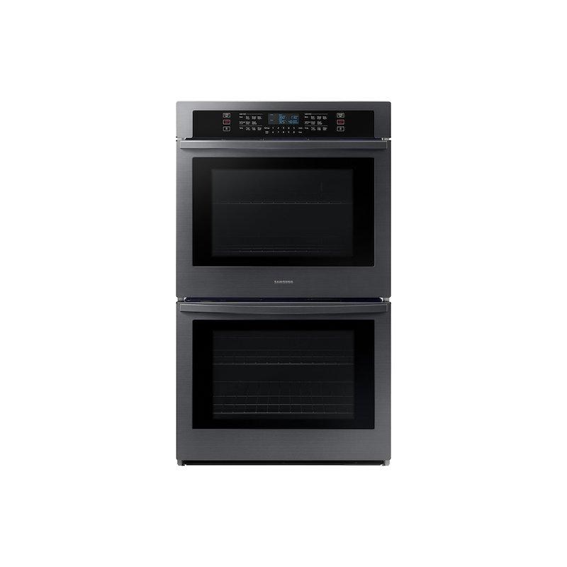 """30"""" Smart Double Wall Oven in Black Stainless Steel"""