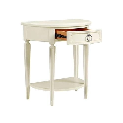 Clementine Court Frosting Night Table