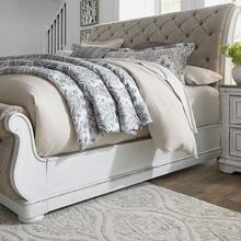 California King Uph Sleigh Bed Rails