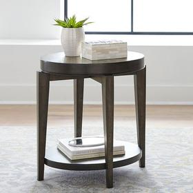 Oval Chair Side Table