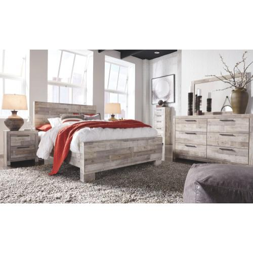 Effie Queen Panel Bed