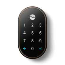 Nest x Yale Lock, Oil Rubbed Bronze