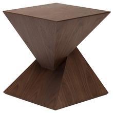 Giza Side Table  Walnut