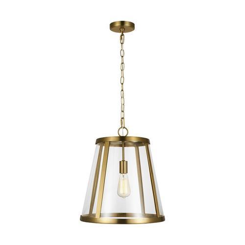 Harrow Medium Pendant Burnished Brass