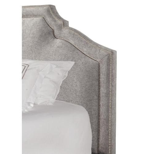 CASEY - SHIMMER King Headboard 6/6 (Grey)