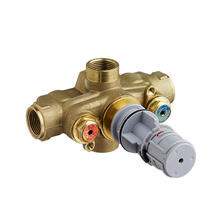 3/4 Inch Thermostatic Wall Rough Valve - No Finish