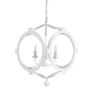 Clancy Chandelier - White