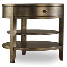 Product Image - Sanctuary One-Drawer Round Lamp Table - Visage
