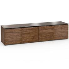 See Details - Denver 247, Quad-Width AV Cabinet, Textured Medium Walnut
