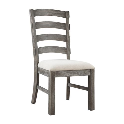 Paladin Upholstered Dining Chair, Weathered Gray D350-20-03