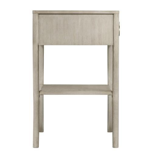 Maisie - Accent Nightstand - Champagne Finish