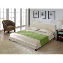 See Details - QUEEN Bed (KK15041 A18) beige 803