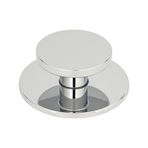 Dot Knob 2 Inch - Polished Chrome