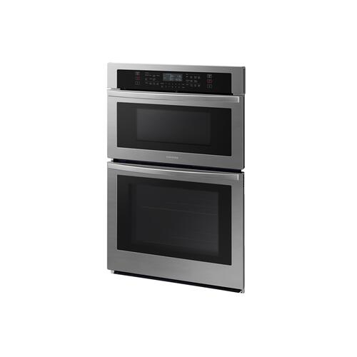 "30"" Smart Microwave Combination Wall Oven in Stainless Steel"