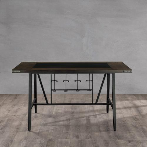 Counter Height Table, Glass Insert