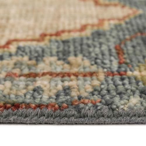 Charise-Tabriz Fog Blue - Rectangle - 3' x 5'